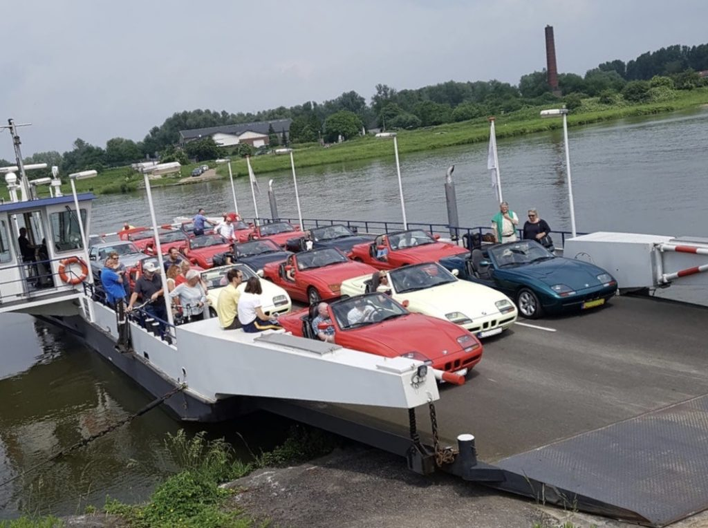 BMW Z1 Club veerboot