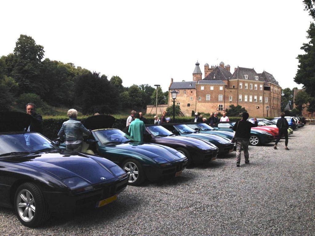 BMW Z1 club bezoekt huis Bergh